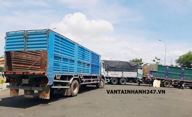 nhà xe vận chuyển hàng đi Campuchia