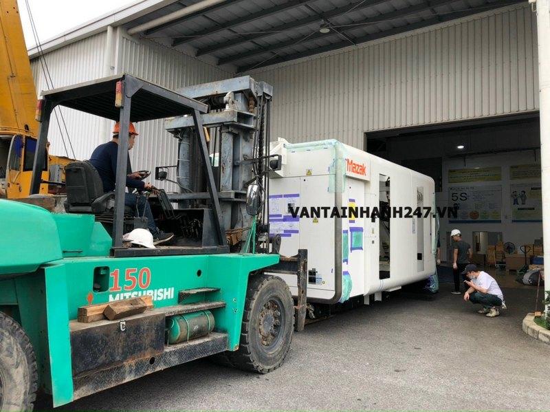 Cam kết của Vận Tải Thịnh Logistics về vận chuyển máy móc thiết bị
