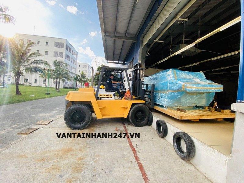Công trình dự án di dời máy móc Thịnh Logistics đã thực hiện