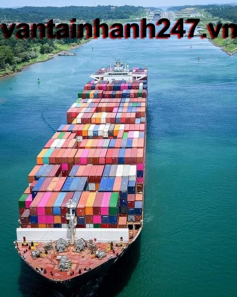 giá cước vận tải container bằng đường biển – đường bộ