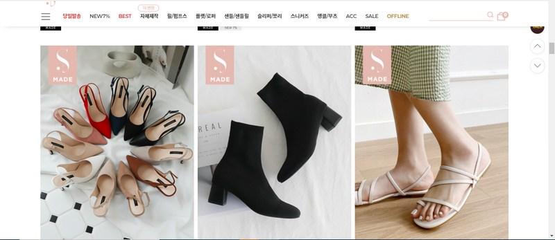 Sản phẩm giày cao gót dành cho phái nữ có bán tại Sistershu.