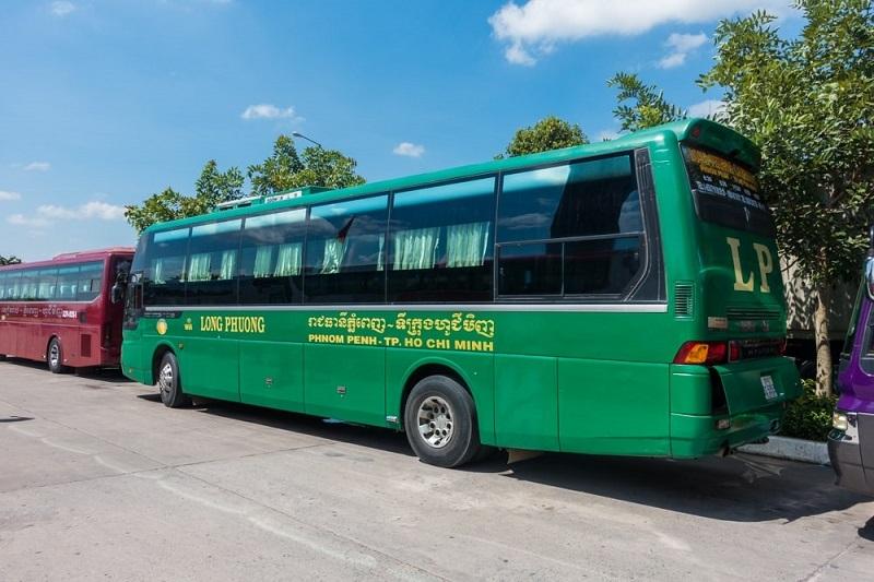 Xe Long Phượng Bus đi Cambodia.