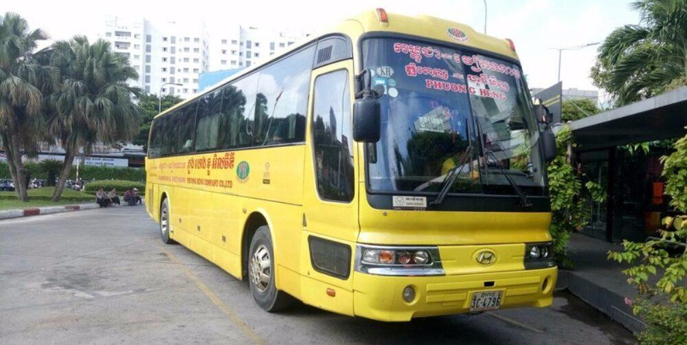 Xe Phương Heng đi Campuchia.
