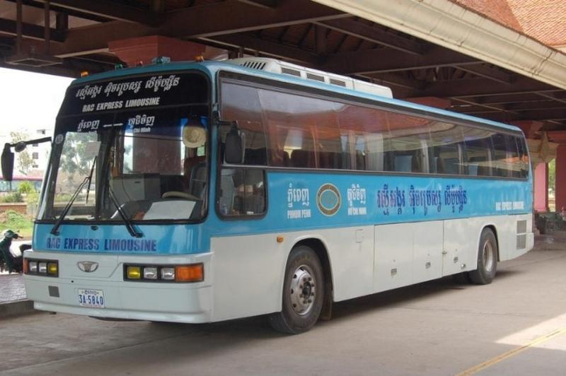 Xe Thái Dương Express – Xe đi Sihanoukville từ Sài Gòn.